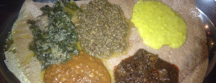 Meskel Ethiopian Restaurant is one of Cheapeats - Happiness, $25 and under..