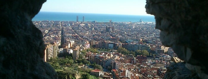 Búnkers del Carmel is one of Barcelona sightseeing.