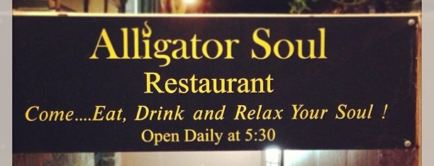Alligator Soul is one of Nolfo Georgia Foodie Spots.