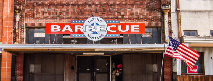 Louie Mueller Barbecue is one of Texas Monthly's Top 50 BBQ Joints in Texas.
