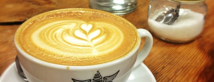 Spring Espresso is one of The Telegraph best & busiest UK coffee shops.