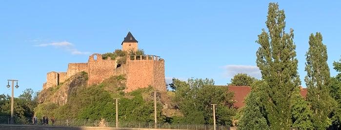 Burg Giebichenstein is one of Halle.