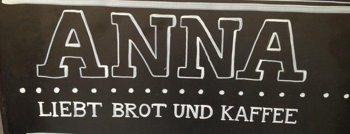 ANNA - Kaffeehaus & Brotkultur is one of Regensburg.