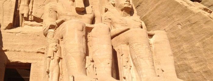 Abu Simbel Temples is one of Sitios Internacionales.