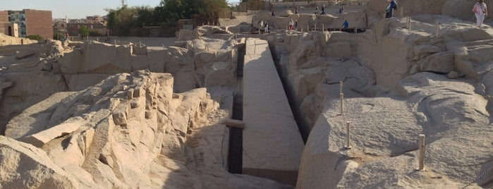 The Unfinished Obelisk is one of Egypt..