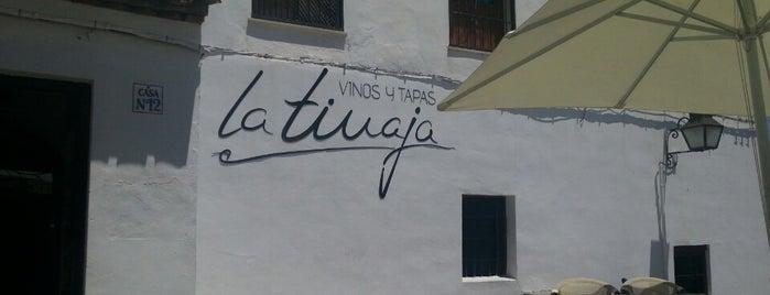 Restaurante La Tinaja is one of Spain.