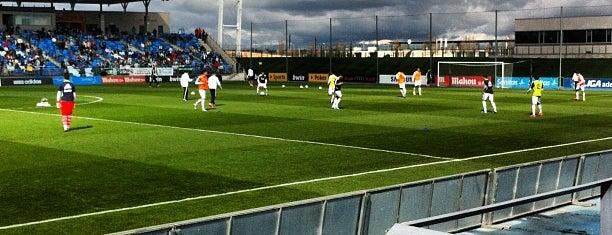 Estadio Alfredo Di Stéfano is one of Lieux qui ont plu à Juanma.