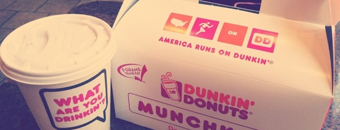 Dunkin' is one of Musi's Saved Places.