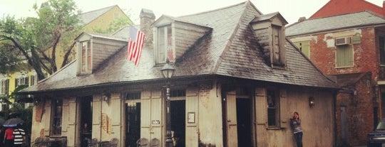 Lafitte's Blacksmith Shop is one of NoLa.