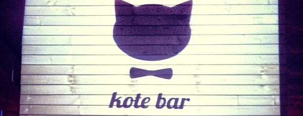 Kotebar is one of Bar.