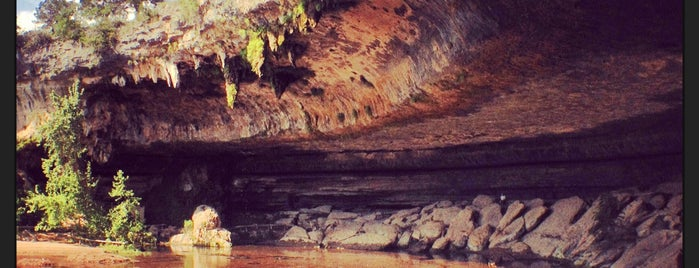 Hamilton Pool Nature Preserve is one of Hook 'Em Horns- Austin.