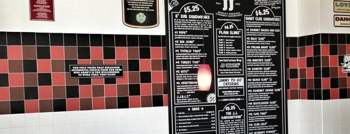 Jimmy John's is one of Lunch spots.