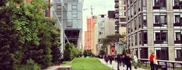 High Line is one of NY city spots.