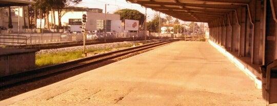 Estação Ferroviária de Carcavelos is one of Tempat yang Disukai Rafael.
