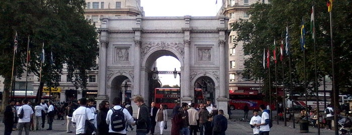 Marble Arch is one of London, Greater London UK.
