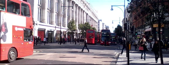 Oxford Street is one of London, Greater London UK.