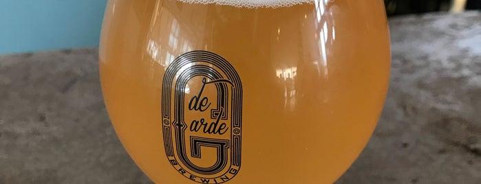 de Garde Brewing is one of Beer / Ratebeer's Top 100 Brewers [2018].