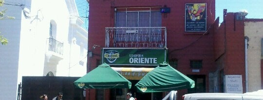 Fuente de Soda Oriente is one of Luis'in Kaydettiği Mekanlar.