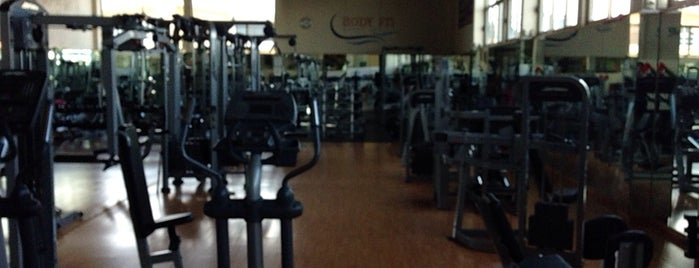 Body Fit Fitness Center is one of lugar.