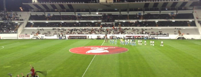 Beşiktaş is one of Beşiktaş JK.