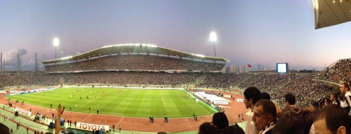 Atatürk Olimpiyat Stadyumu is one of Beşiktaş JK.