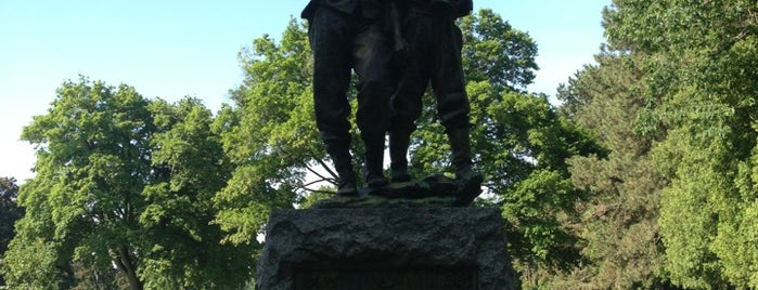 Mount Hope Cemetery Civil War Monument is one of Take zucchini.