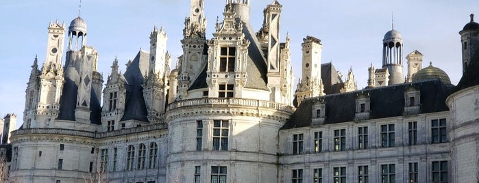 Domaine de Chambord is one of Sologne.