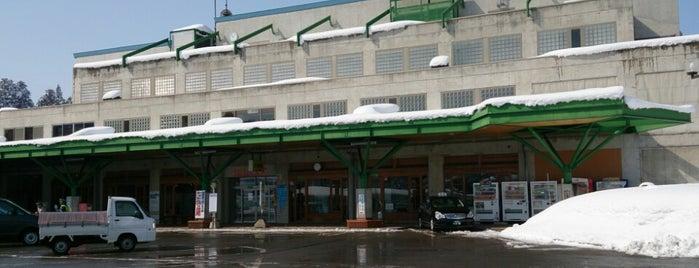 道の駅 まつだいふるさと会館 is one of Gespeicherte Orte von M.