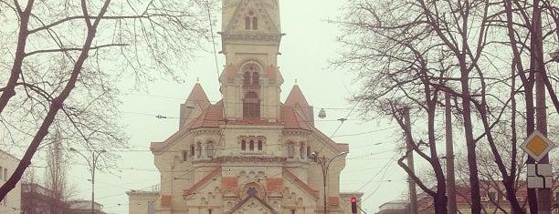 Лютеранский кафедральный собор Св. Павла (Кирха) / Lutheran St. Paul's cathedral is one of одесса.