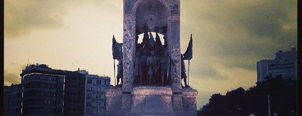 Taksim Meydanı is one of SÜRÜCÜ KURSU http://www.ozsagyildirim.com/.