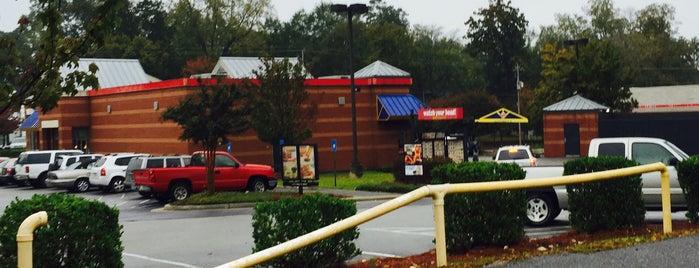 Burger King is one of Daron : понравившиеся места.