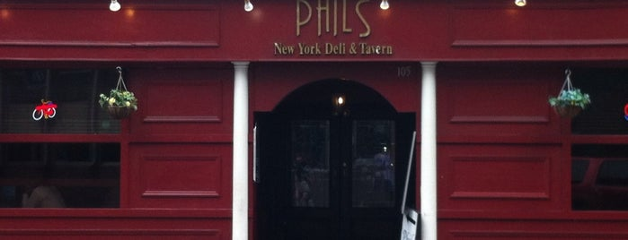 Phil's New York Deli & Tavern is one of Uptown Charlotte Dining and Nightlife.