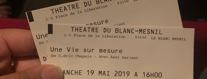 Le Blanc-Mesnil is one of j'ai été.