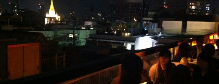 MERCER CAFE TERRACE HOUSE is one of Cafe (Tokyo 東京).