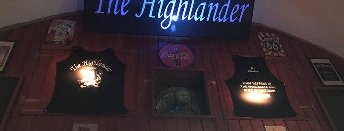 The Highlander is one of Yunan Adaları.