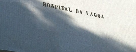 Hospital da Lagoa is one of Oscar Niemeyer [1907-2012].