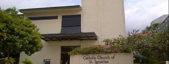 Church Of St. Ignatius is one of Singapore Catholic Churches (West).