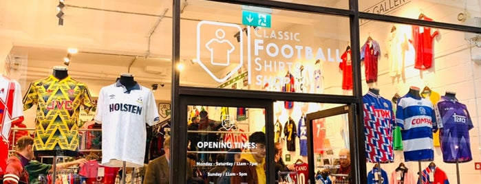 Classic Football Shirts Shop is one of London.