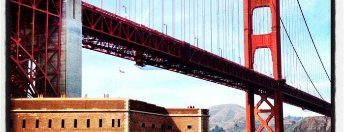 Fort Point National Historic Site is one of San Fran December Adventures.