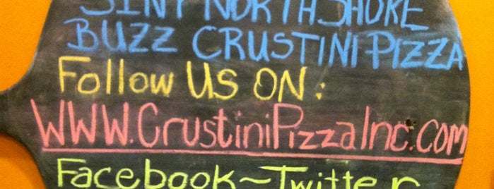 Crustini Pizza is one of Places to try.