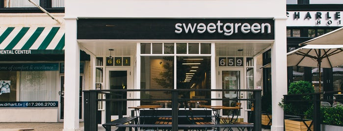 sweetgreen is one of Vegetarian Restaurants.