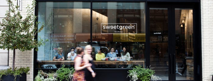sweetgreen is one of Erica Needs Food.