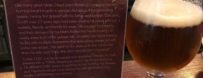 Dead Lizard Brewing Company is one of Breweries I've been to..