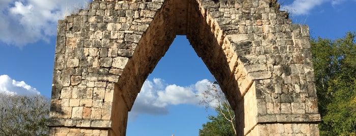 Zona arqueológica de Kabah is one of Locais curtidos por Cris.