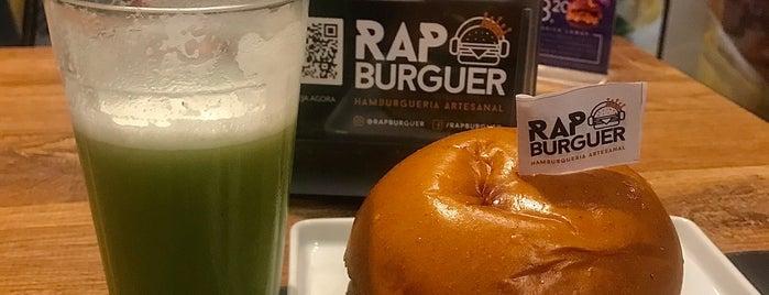 Rap Burguer is one of Guia do Hambúrguer 🍔.