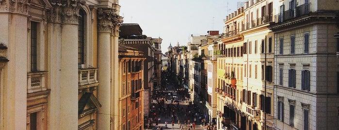Via del Corso is one of 101 cose da fare a Roma almeno 1 volta nella vita.