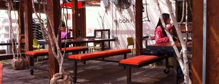 Bolsa is one of Patio Weather.