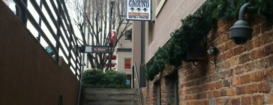 Coffee Underground is one of Greenville.