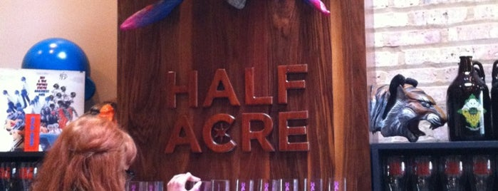 Half Acre Beer Company is one of Chicago Magazine's 100 Best bars 2013.