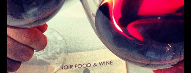 Noir Food & Wine is one of dineLA Fall 2011 ($$$).